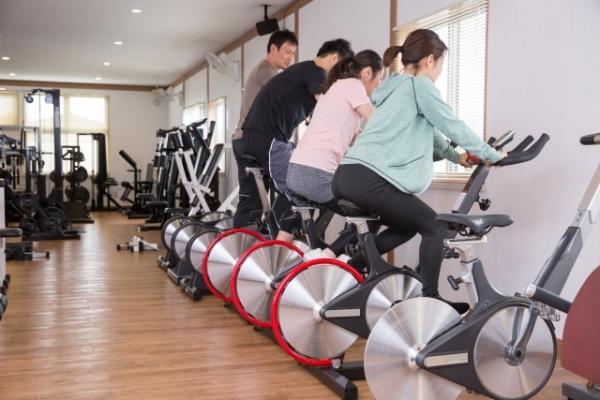 男性女性共通エアロバイク負荷の目安