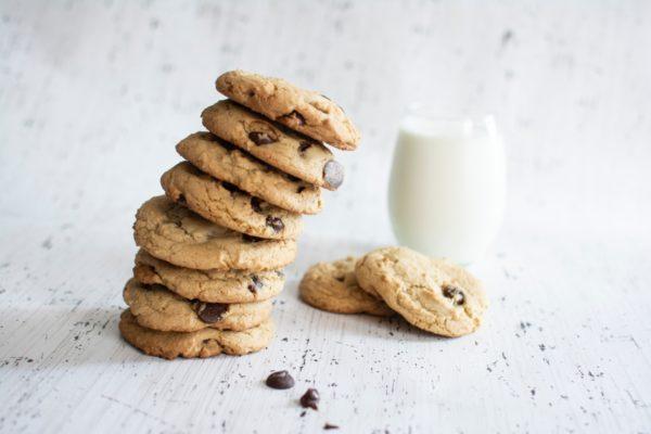筋トレ中に食べるコンビニお菓子:豆乳ダイエットクッキー